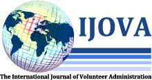 The International Journal of Volunteer Administration - Logo