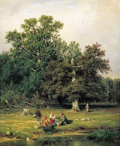 Shishkin, Gathering Mushrooms